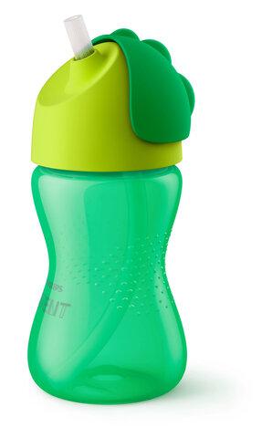 Sugerørskop 300 ml. grøn