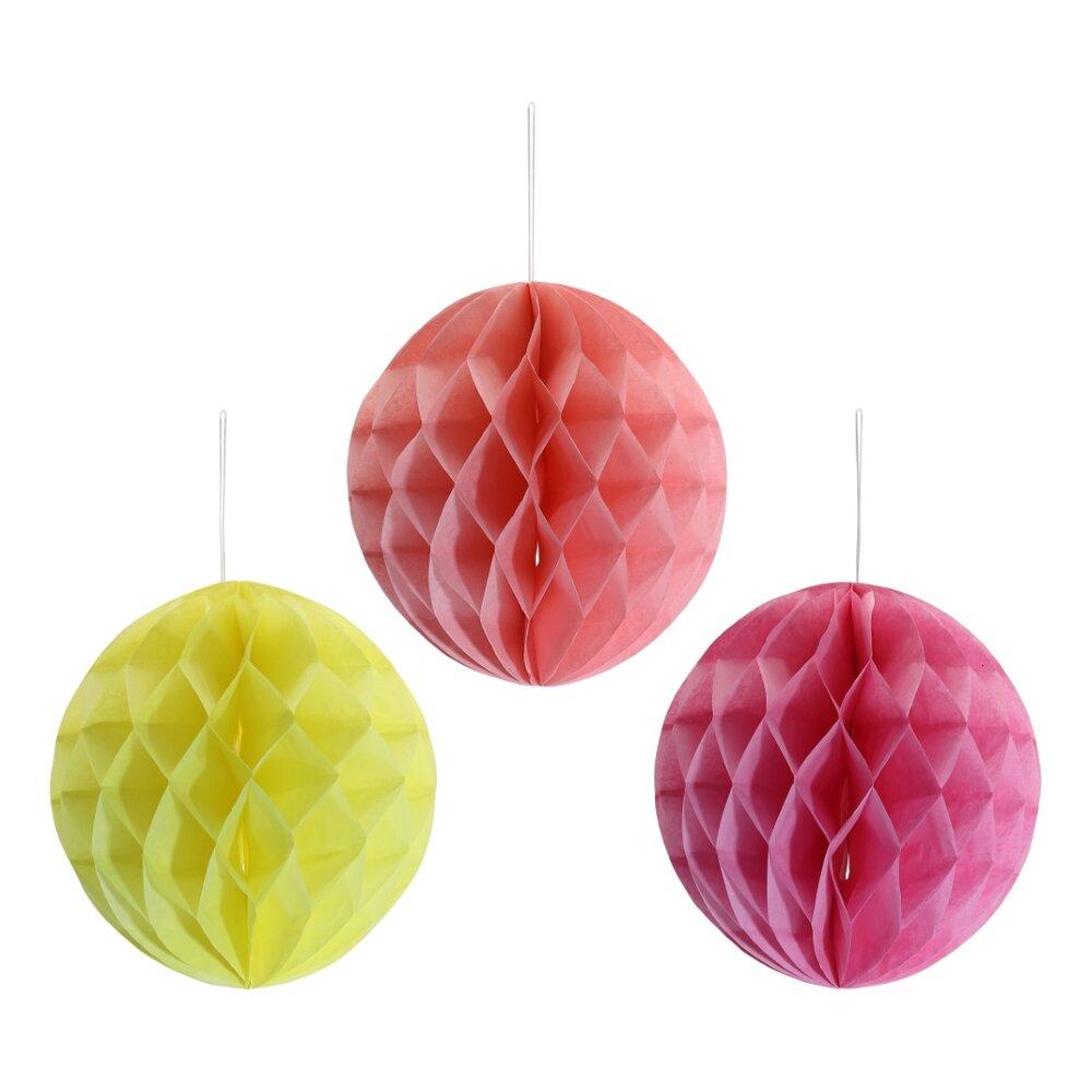 Image of Lutter Lagkage Papirbolde 6 stk - Pink/Gul (37c278f9-28bb-4aba-a13c-656dd58fed2f)