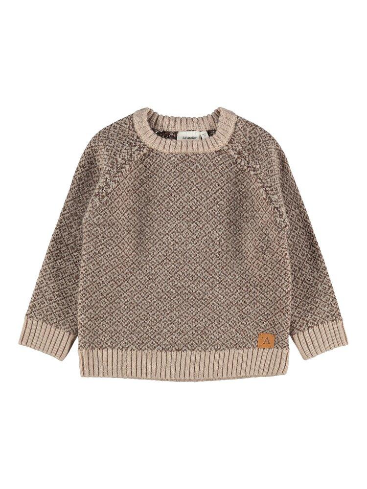 Image of Lil' Atelier Eroger LS knit - HUMUS (e7c743f4-69f4-4b98-9104-21045ad007aa)