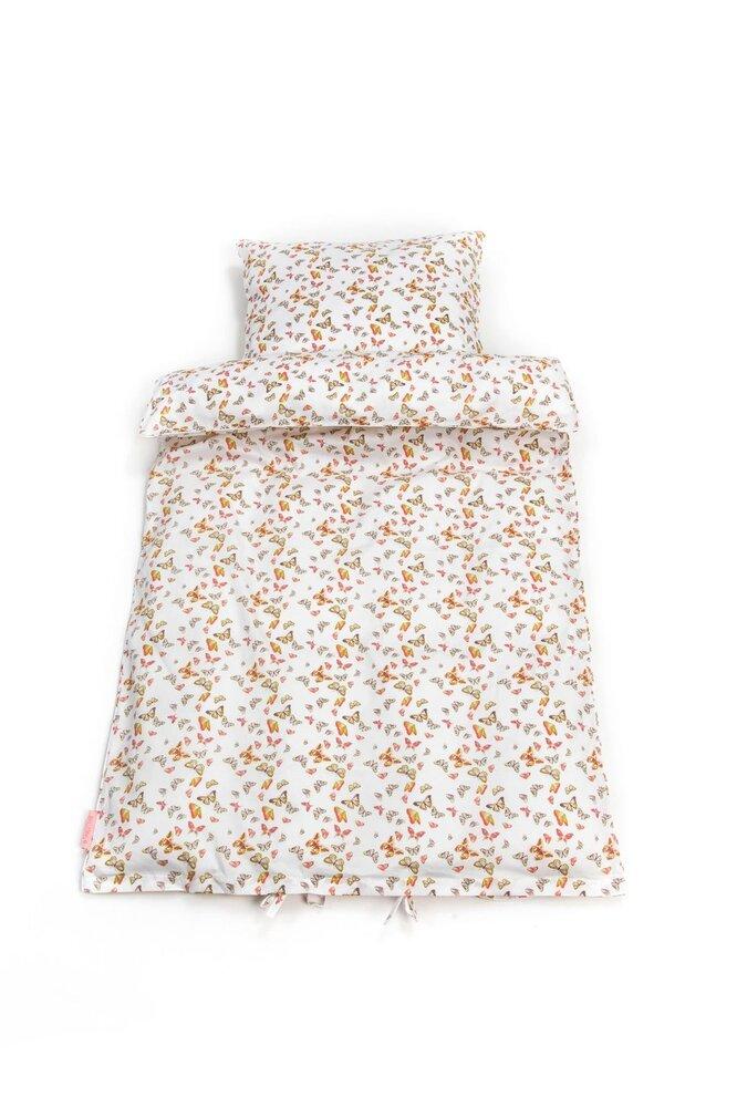 Image of Smallstuff Baby sengetøj m. sommerfugle (7e5b86c7-25cf-4ead-9d5a-362a0451f2d0)