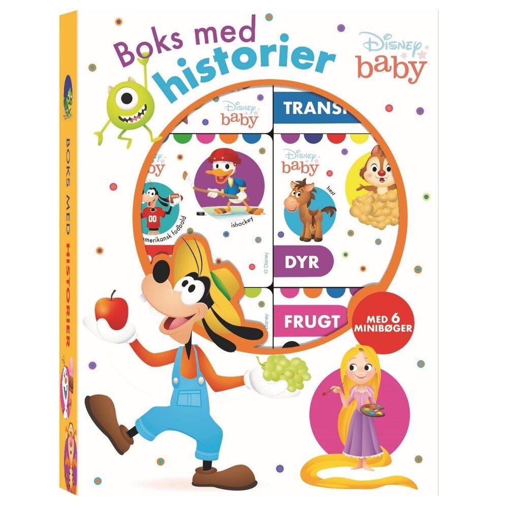 Image of Karrusel Disney baby - Boks med historier (6 minibøger) (745cee7c-6b9e-49a3-b55c-7057cd073777)