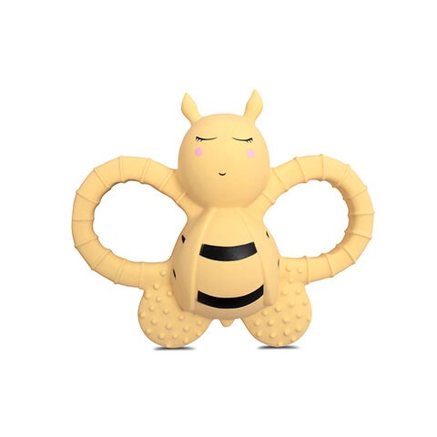 Bella the bee - rubber, Pale banana
