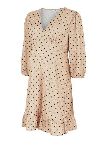 Celina 3/4 jersey kort kjole - NOMAD