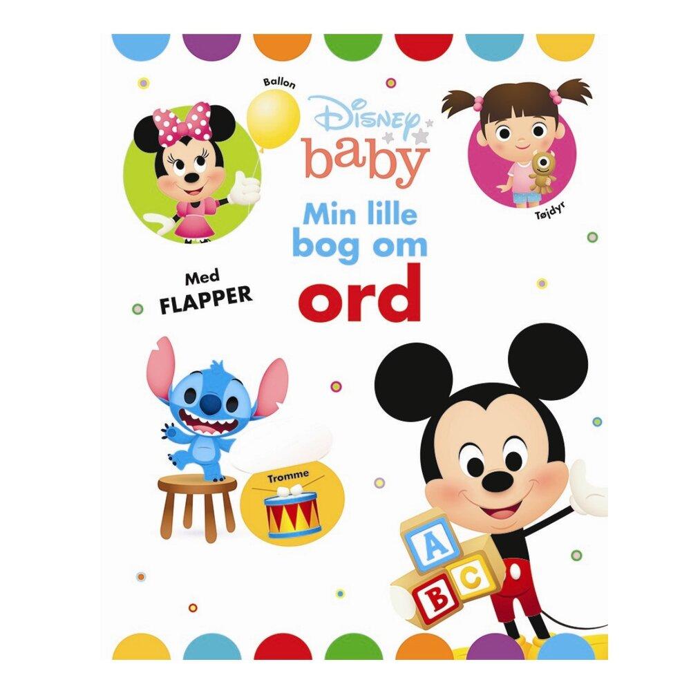 Image of Karrusel Disney baby - Min lille bog om ord (75fca706-0656-4a44-af0c-7ee2a3bd3699)