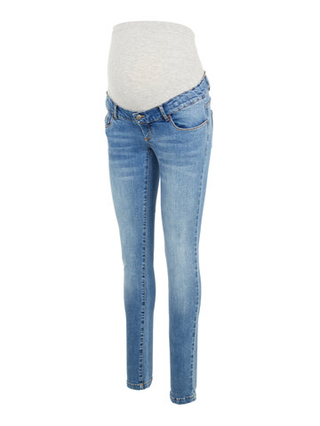 York slim organic jeans - BLUE DENIM