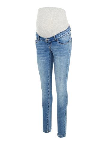 York slim organic jeans - BLUE DENIM