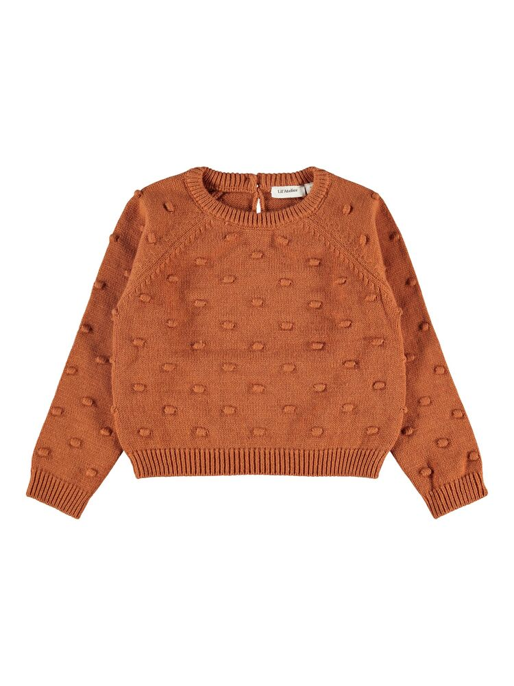 Image of Lil' Atelier Gable LS short knit - GLAZEDGING (c09a6891-00a3-4350-b5dc-6aa87408dcba)