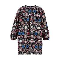 Winter poplin kjole - 471