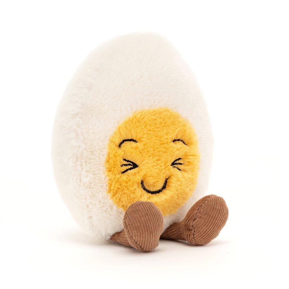 JellyCat Mood æg, Griner, 14 cm
