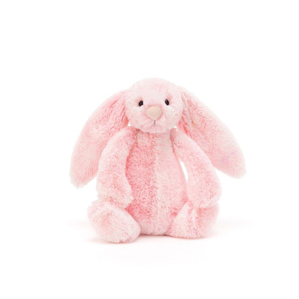 Image of JellyCat Bashful kanin, Peony lille 18 cm (eb194b14-1f59-441e-bd6d-44d05fed3f2f)