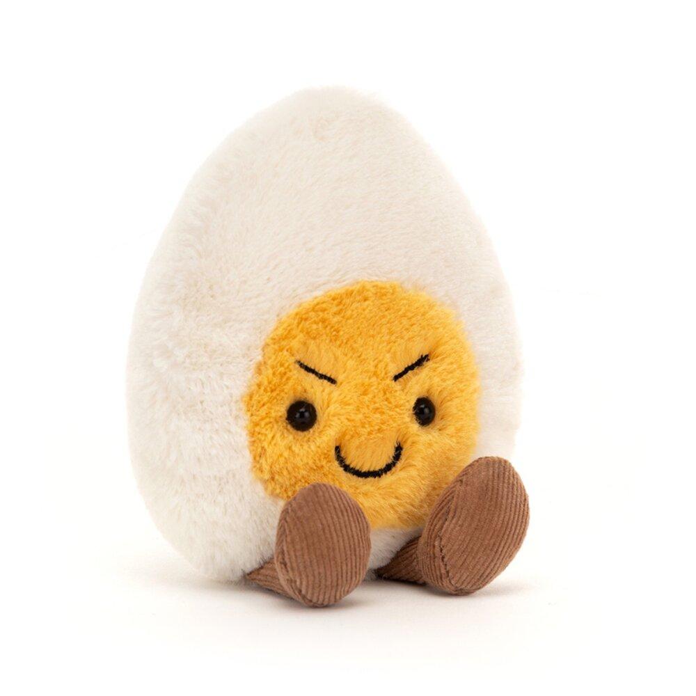 JellyCat Mood æg, Flabet, 14 cm