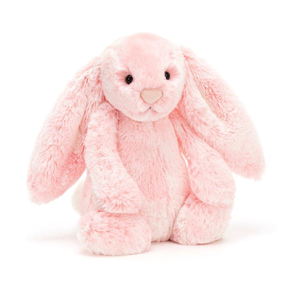 Image of JellyCat Bashful kanin, Peony mellem 31 cm (eb5e9494-cfaa-4b44-940c-c89ac78d1c45)