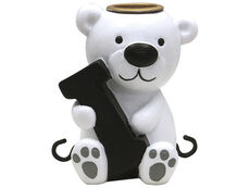 I bogstav med isbjørn til navnetog