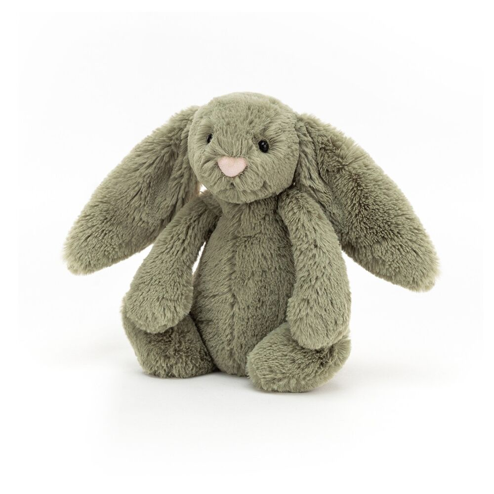 Image of JellyCat Bashful kanin, Fern lille 18 cm (020d7d15-24bb-41cd-97b9-adc9338f47c2)