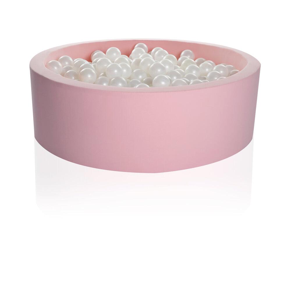 Image of Kidkii Rundt 90x30 Pink Candy incl. 200 Bolde (cc7f8f77-4bf9-404e-8eb4-12fb78ab4bf0)