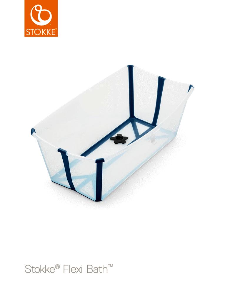 Image of Stokke® Stokke Flexi Bath - transperant blå (2210f32f-b144-4c7e-ba94-c68a94916d9e)