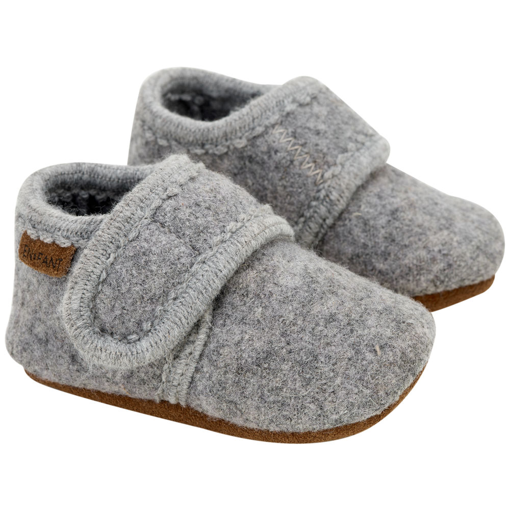 Image of En Fant Baby wool slippers - 1223 (a52bedb4-17f8-4507-a9c6-d511ae6046e5)