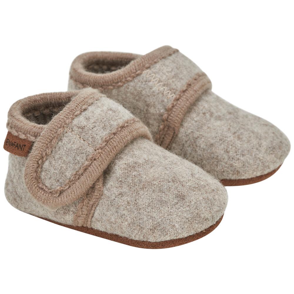 Image of En Fant Baby wool slippers - 2060 (542985b6-9324-433a-bb07-1b002b4b8136)