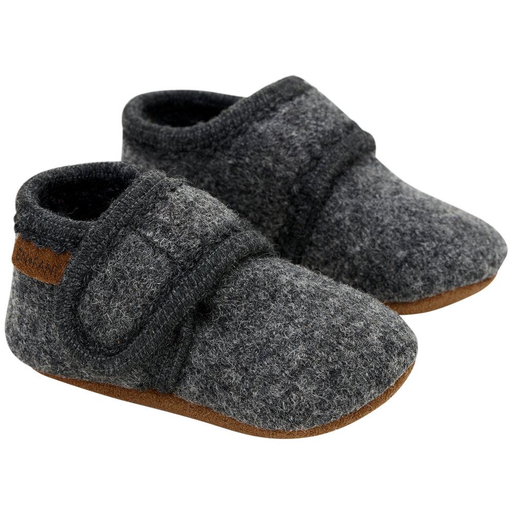 Image of En Fant Baby wool slippers - 1230 (6c36a7f8-7509-4c72-8e95-ee0da3975850)