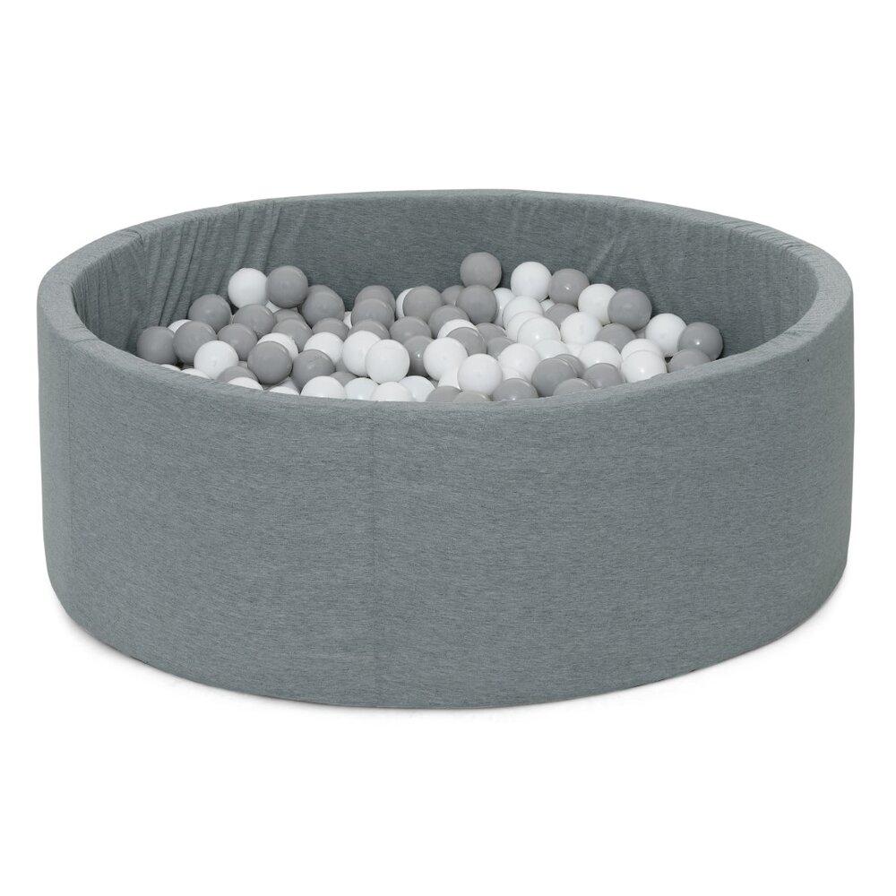 Image of BeKids Boldbassin grå stort 300 bolde (be7cddfc-1fd0-4749-8440-f45a98bf59a3)