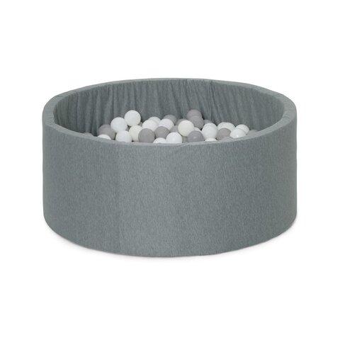 Boldbassin grå lille 200 bolde