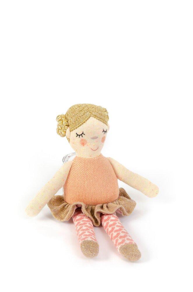 Image of Smallstuff Aktivitets ballerina -peach /gold (1294a2df-1e63-4f2a-a00a-3f333ebcc262)