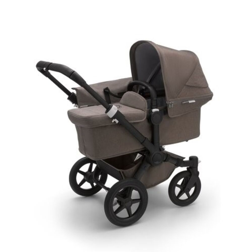 Image of Bugaboo Donkey3 Mineral Mono Complete - taupe på sort stel (b1d79e67-ae20-4d68-8763-e9767cb6a113)