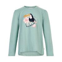 T-shirt LS print - 9120