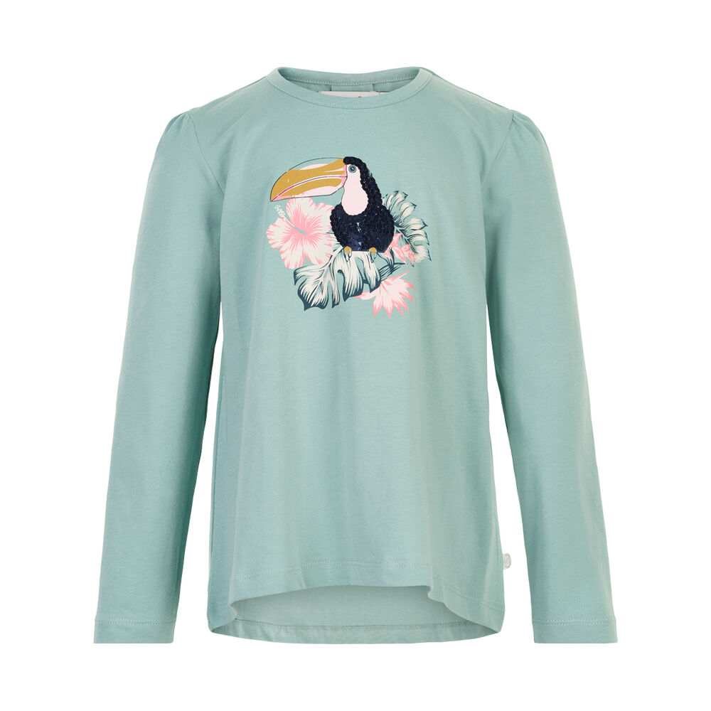 Minymo T-shirt LS print - 9120