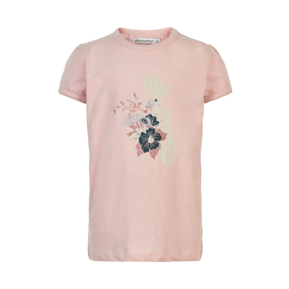 Minymo T-shirt SS print - 5506