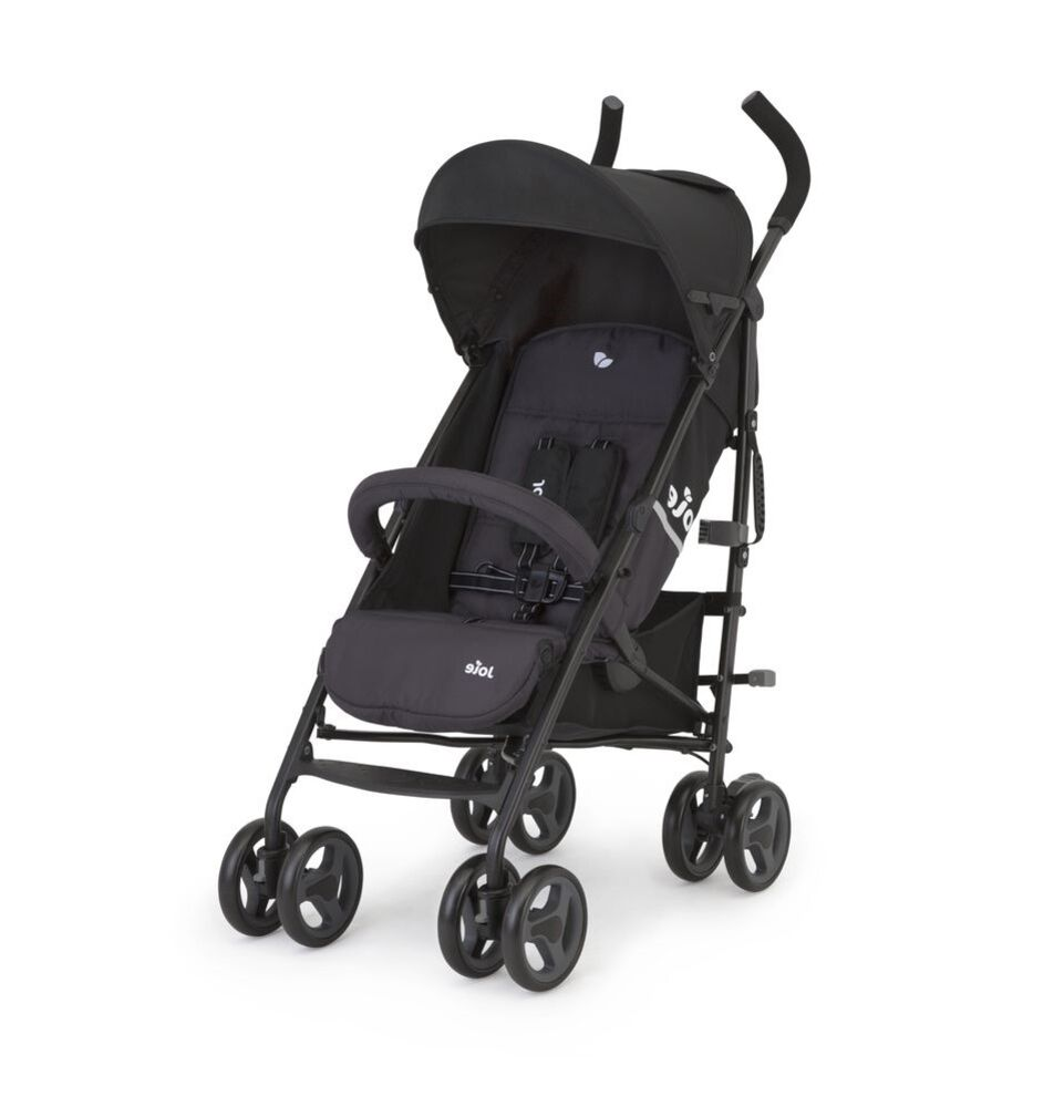 Image of Joie Nitro LX Paraplyklapvogn - two tone black (3595a1c5-9149-4949-b8a0-6275c0cc8537)