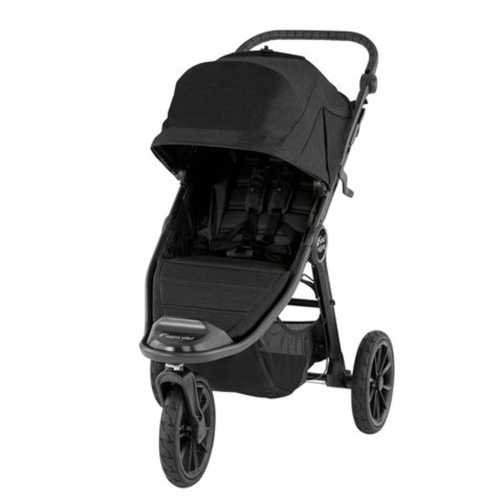 Image of Baby Jogger City Elite 2 Klapvogn - jet (b14de316-9739-4521-bffd-4588d338430f)