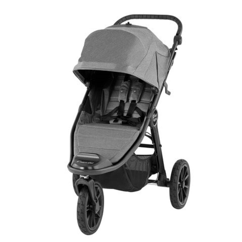 Image of Baby Jogger City Elite 2 Klapvogn - slate (7e6726cc-5d92-4a1f-9f40-3452ac2f32f7)