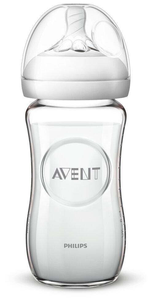 Image of Philips Avent Glas Flaske 240ml (30e79a3f-708c-496c-b7e1-9679c78fae5c)