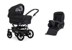 Edge Duo Competition Black med sort stel