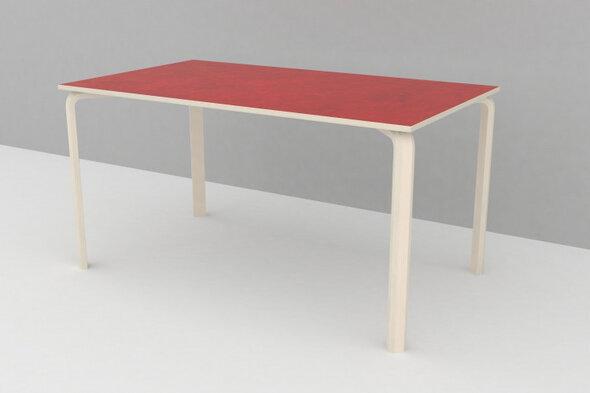 Bord linoleum 800 x 1400 mm H: 53 cm