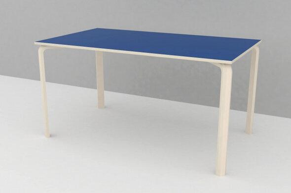 Bord laminat 800 x 1400 mm H: 53 cm