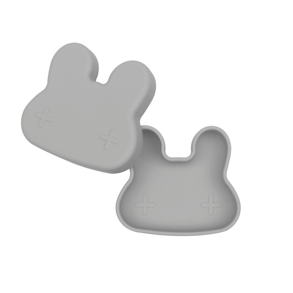 Image of We Might Be Tiny Snackboks, Kanin, Antracitgrå (854db7af-b6d9-406d-8958-cd0c296c891e)