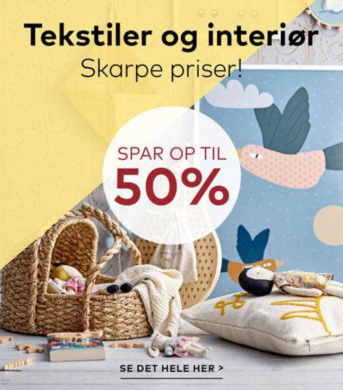 Tekstiler & interiør BabySam