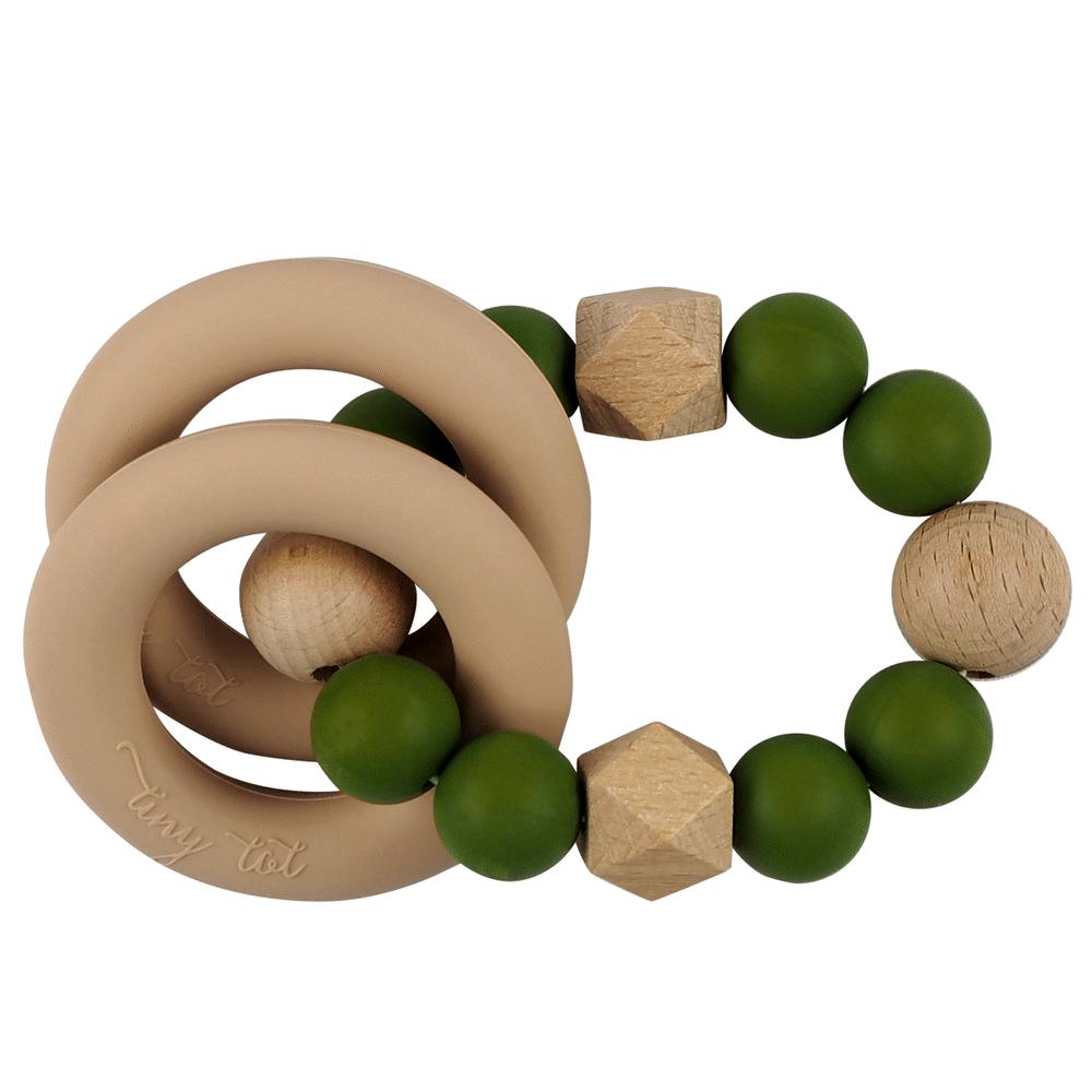 Tiny Tot Nordic Love rangle -Army grøn