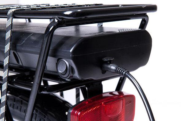 11,6 AMP batteri til Babysam ladcykel