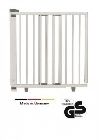 Geuther trægitter hvid 95,5-133 cm