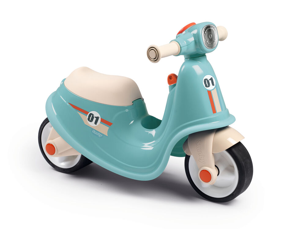 Image of Smoby Scooter Ride-on Blå (1545749e-bcca-4308-be11-d19ffb557995)