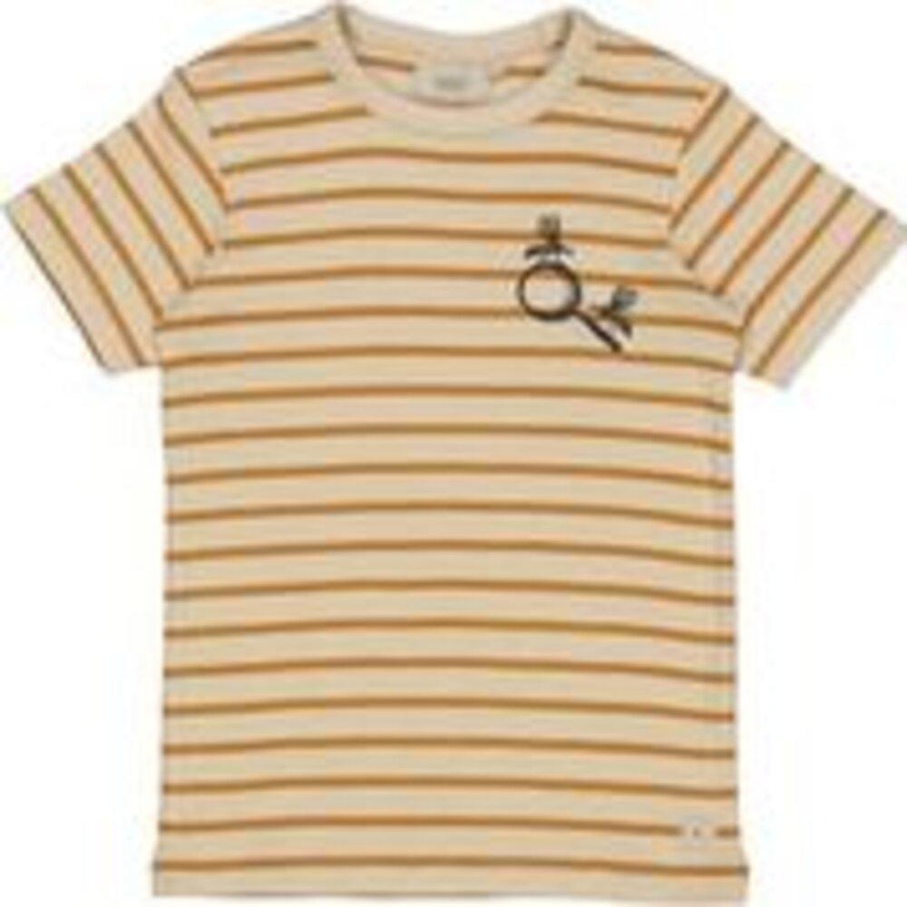 Wheat T-shirt broderet myg - 4341