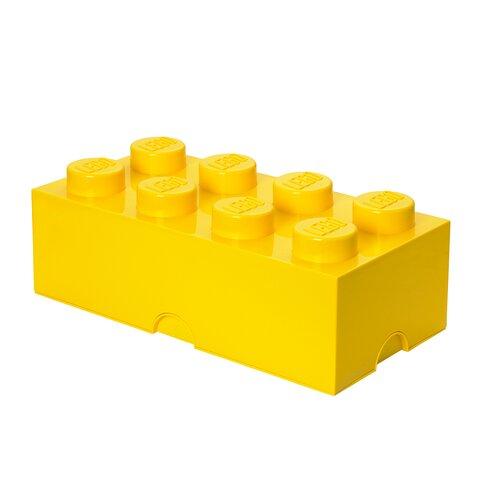 LEGO Opbevaringskasse 8 - Bright Gul