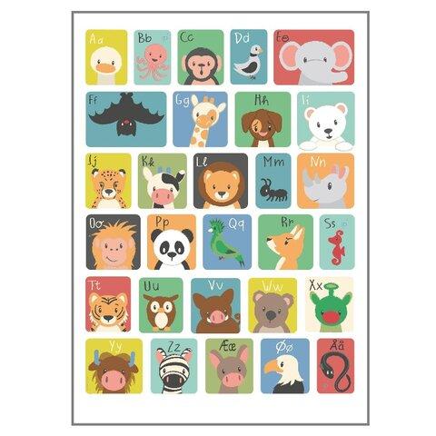 ABC Plakat - 50x70 Cm