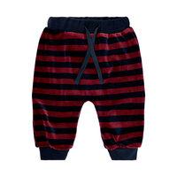 Striped velvet jersey bukser - 477