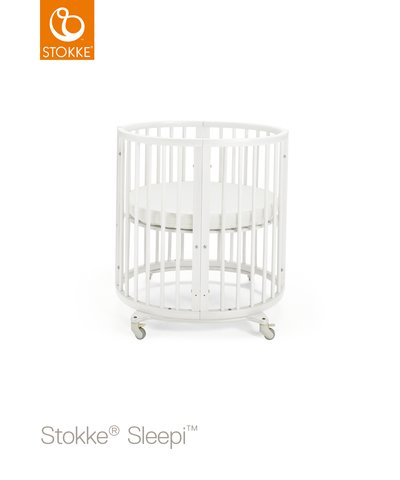 Sleepi Mini Seng + Bed Extention  - White