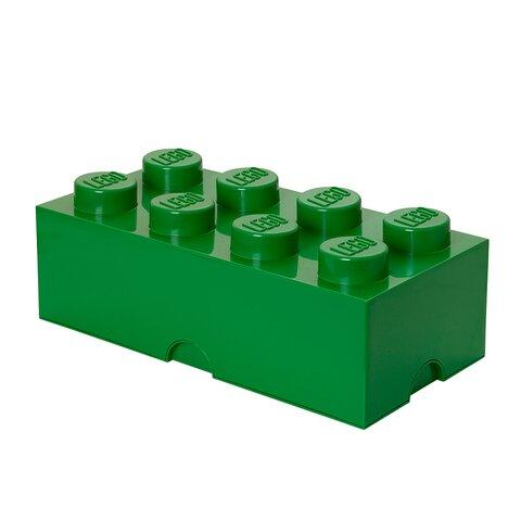 LEGO Opbevaringskasse 8 - Mørk Grøn