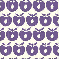 Småfolk Stofble - apple purple heart